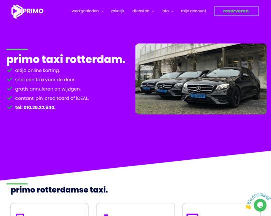 Primo Taxicentrale Logo