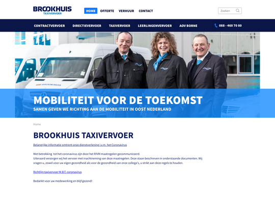 Brookhuis Taxi vervoer