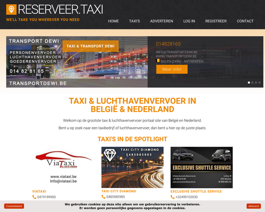 Reserveer Taxi