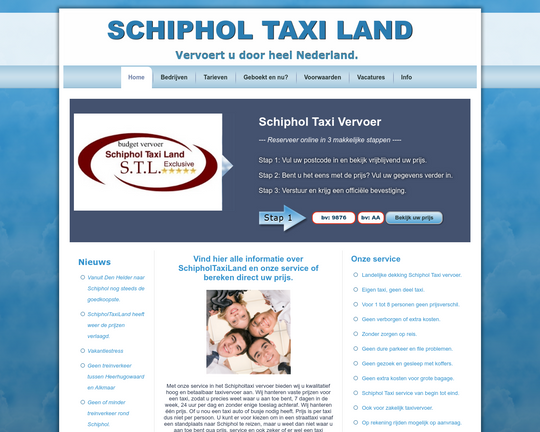 Schiphol Taxi Land
